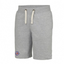 Taughmonagh FC Youth Shorts - Heather Grey 2018